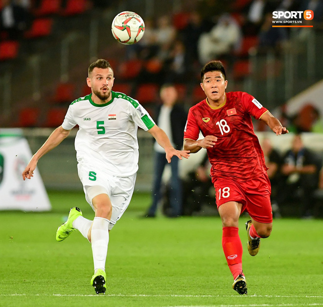 Đức CHinh Iraq Asian Cup 2019