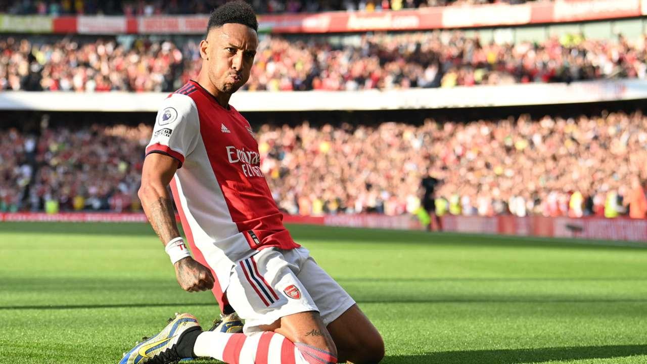 Pierre-Emerick Aubameyang Arsenal 2021-22