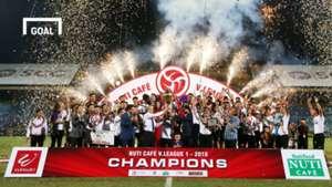 Hà Nội FC nhận cúp vô địch V.League 2018 2/10