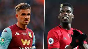 Jack Grealish, Paul Pogba