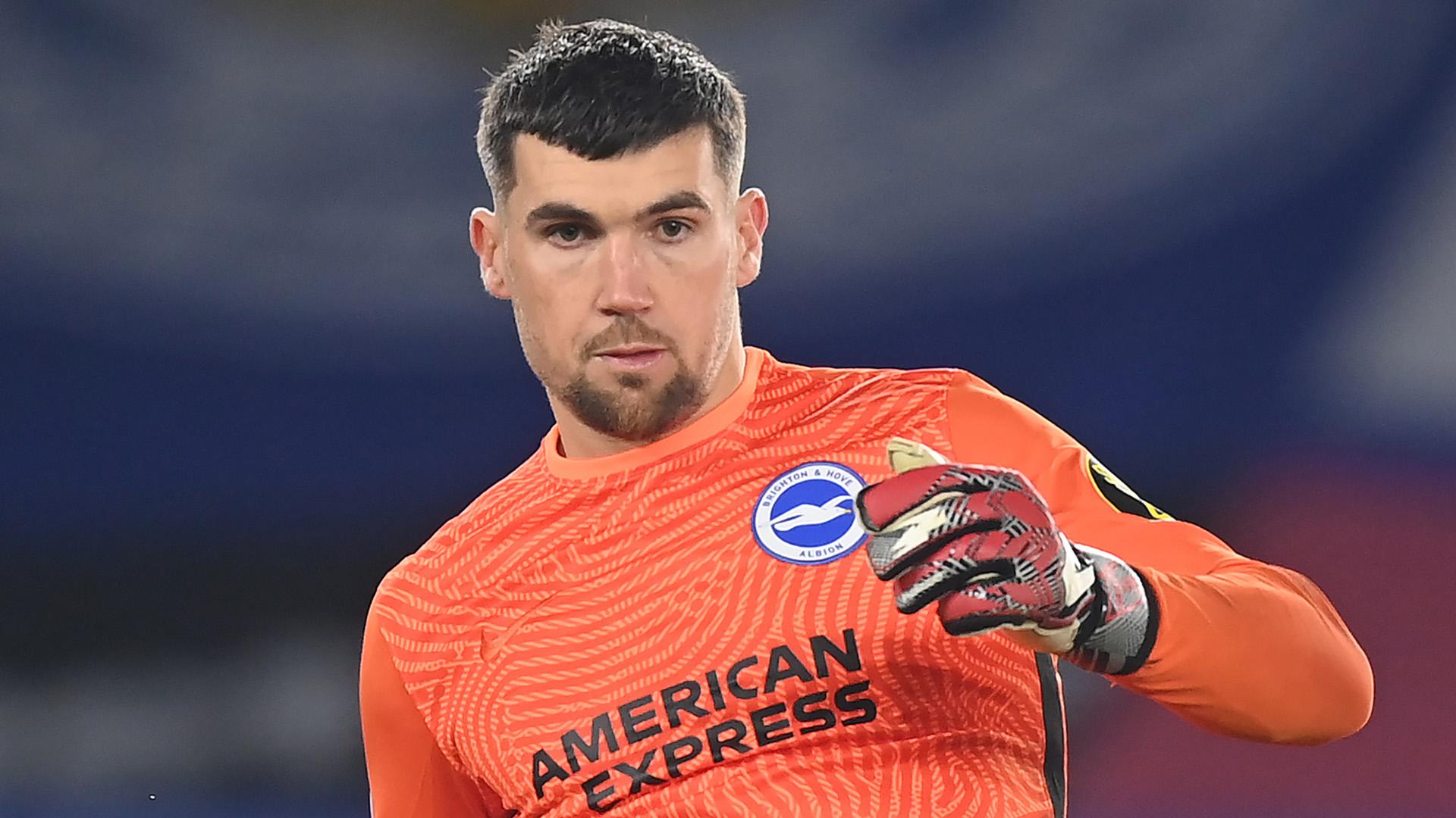 Arsenal sign Brighton goalkeeper Ryan on loan until end of season