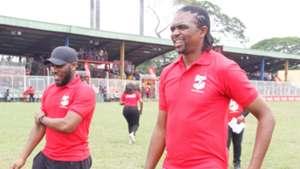 Jay Jay Okocha and Kanu Nwankwo
