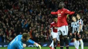 Romelu Lukaku Manchester United Newcastle Premier League