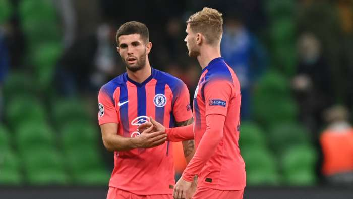 Christian Pulisic, Timo Werner, Chelsea, Champions League 2020-21