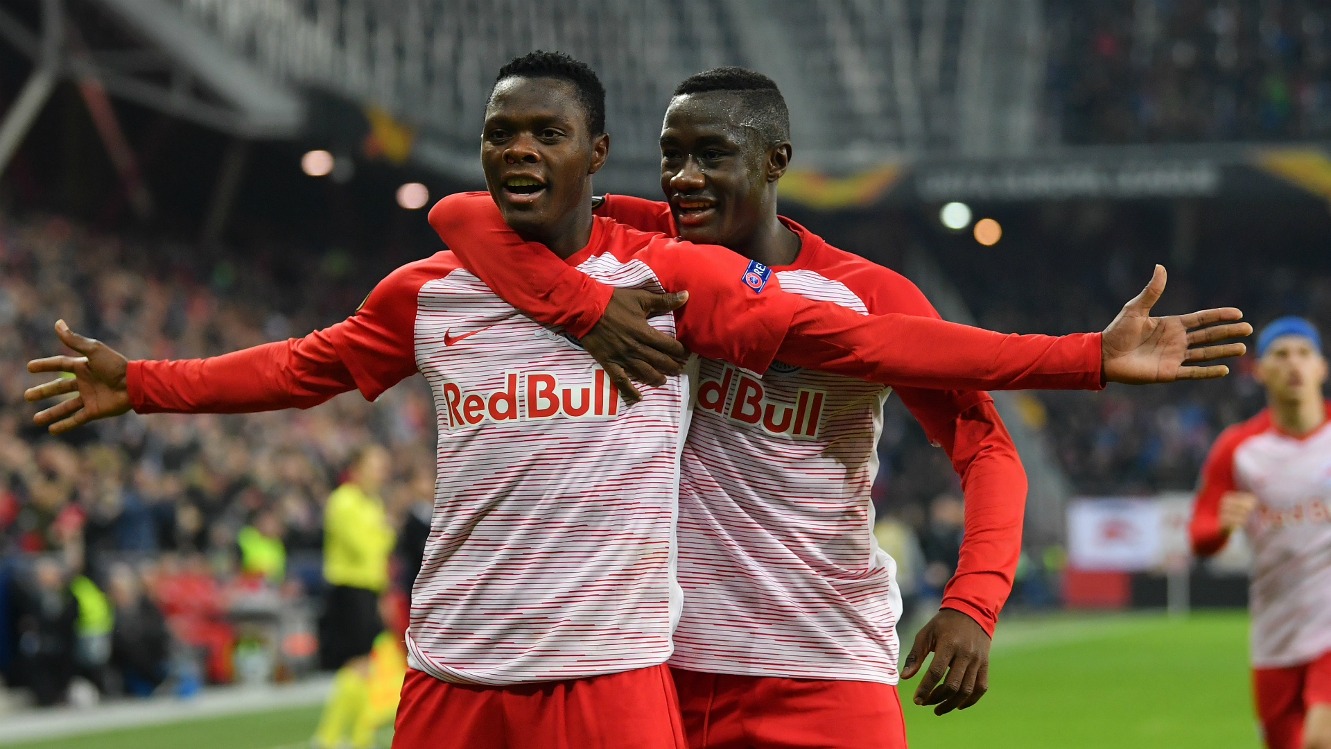 Patson Daka ends goal drought in RB Salzburg's Europa League win | Goal.com
