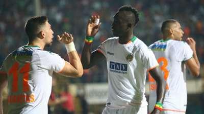 Tasos Bakasetas Papiss Cisse Alanyaspor v Fenerbahce Goal Celebration
