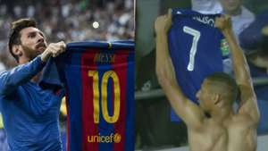 Richarlison celebration Lionel Messi