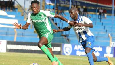 Ezekiel Odera of AFC Leopards v Sony Sugar.