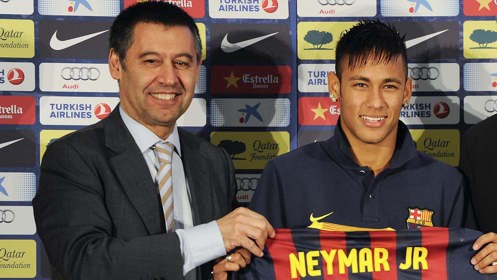 Transferts: Bartomeu évoque les feuilletons Neymar