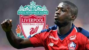 Nicolas Pepe Lille Liverpool