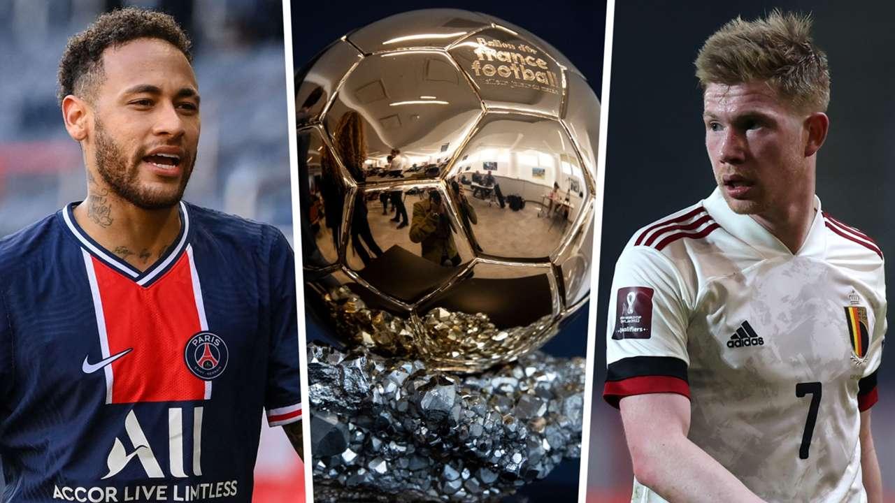 Neymar De Bruyne Ballon d'Or GFX