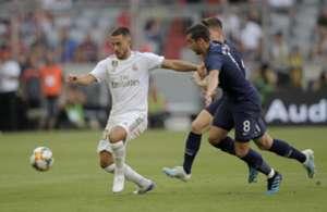 Hazard Real Madrid Tottenham Audi Cup