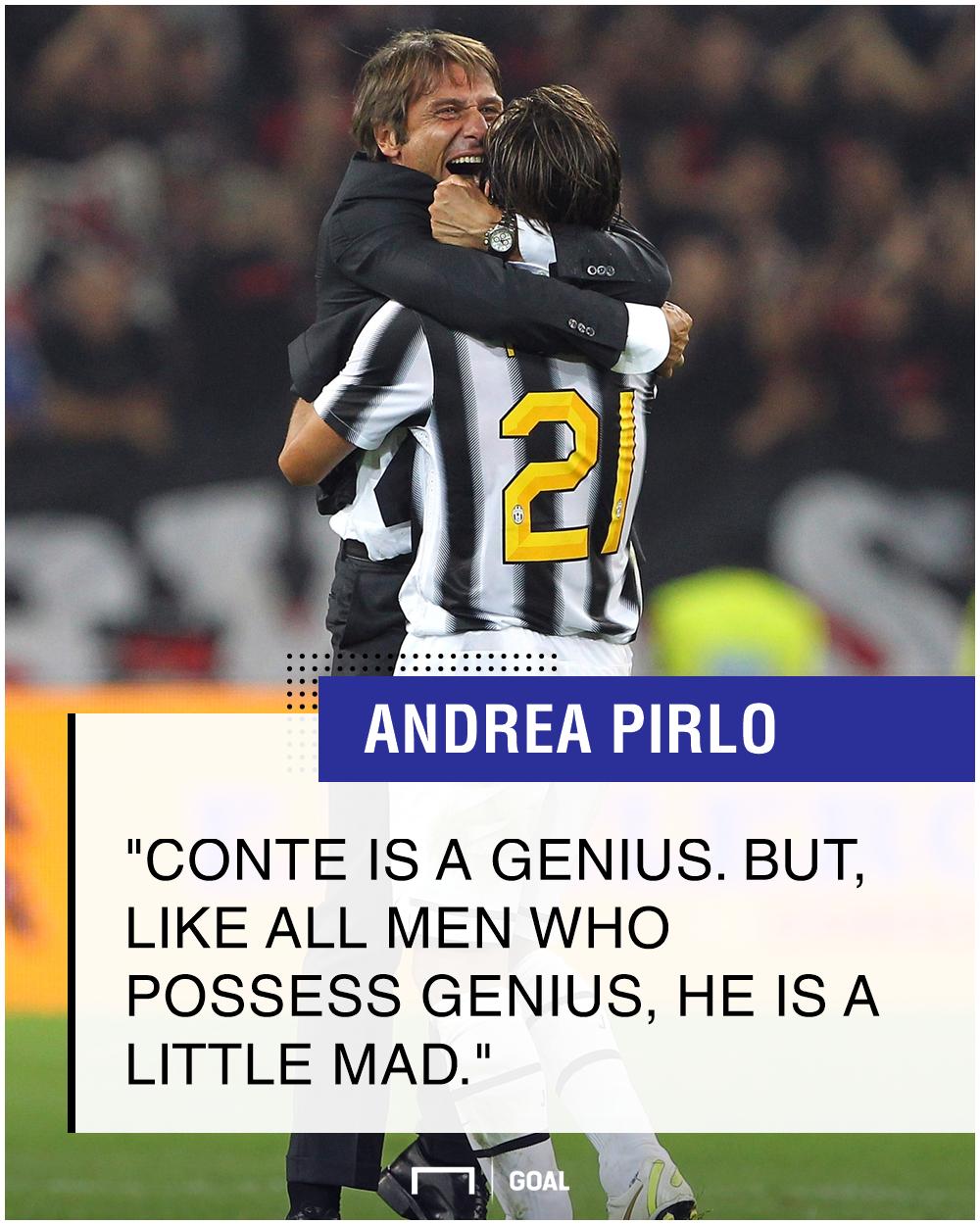 Andrea Pirlo Antonio Conte PS