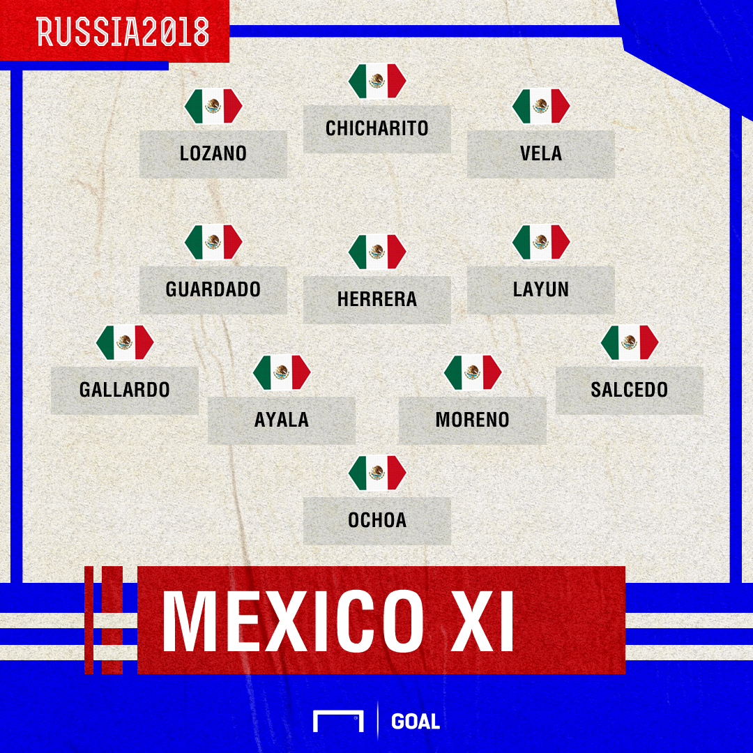 GFX Mexico XI vs Germany 06162018