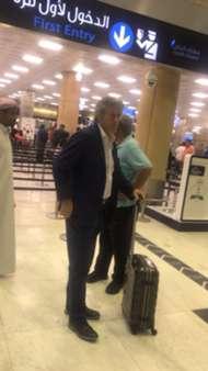 خورخي جيسوس في مطار الرياض