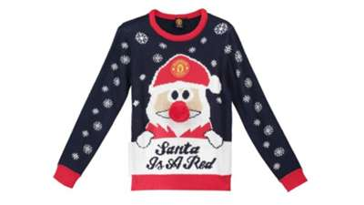 Man Utd Christmas Jumper