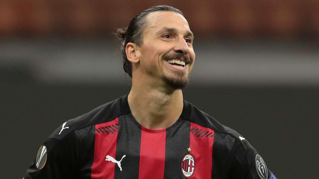 Zlatan Ibrahimovic AC Milan 2020-21