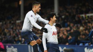 Erik Lamela Heung-min Son Tottenham 2018-19