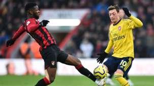 Mesut Ozil Bournemouth vs Arsenal 2019-20
