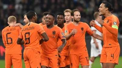 Netherlands celebrate 2019