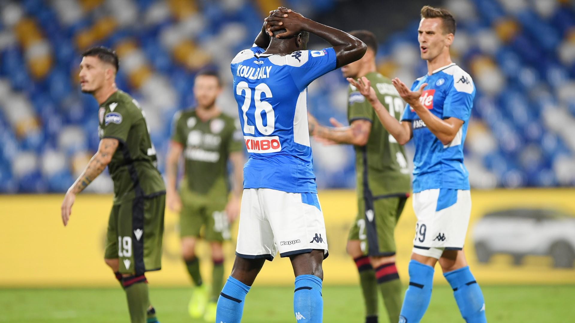 Napoli, anche il club multa Koulibaly dopo il rosso con il Cagliari