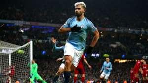 Sergio Aguero Manchester City Liverpool