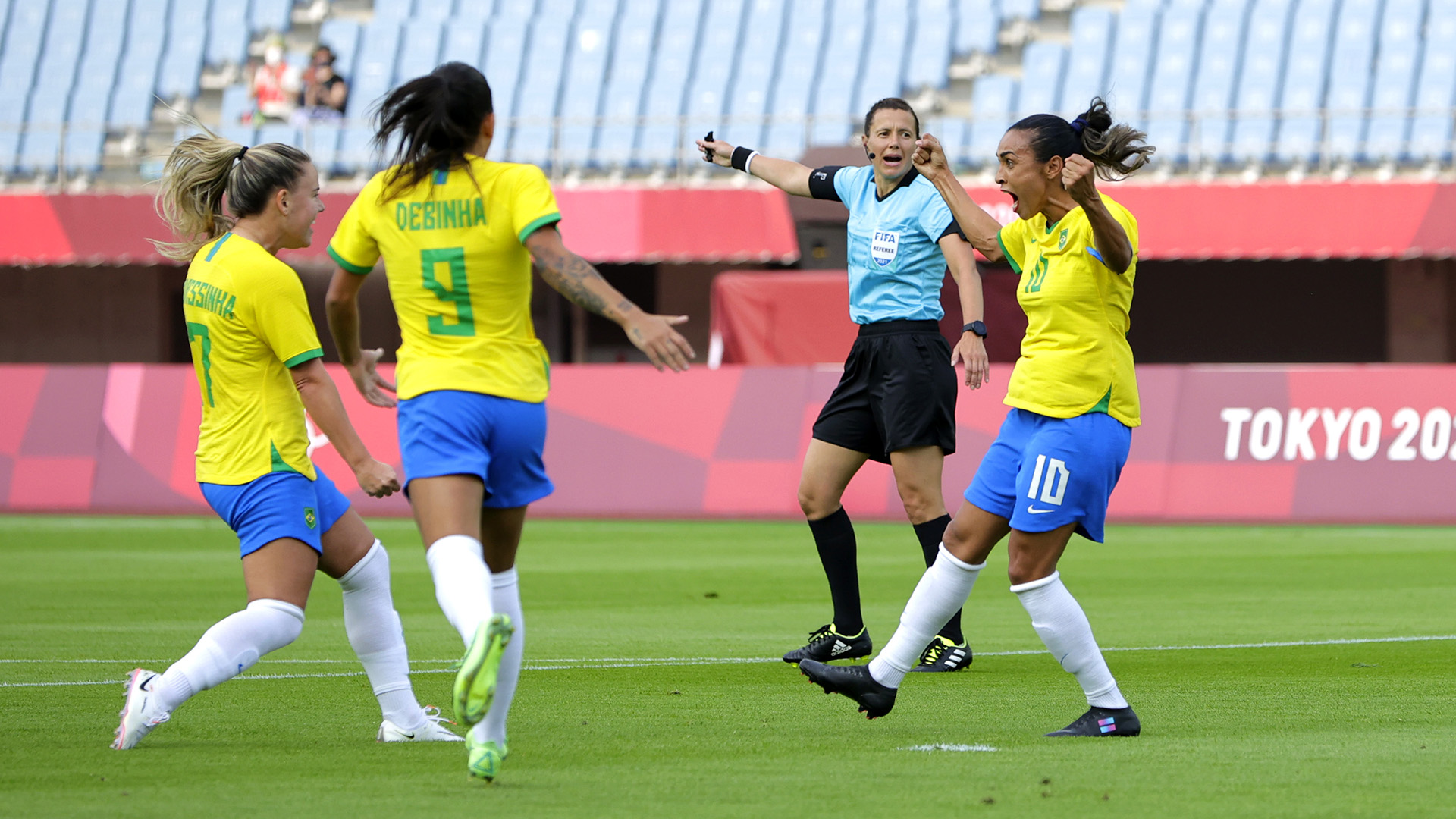 Tokyo Olympics 2020: Marta creates history by becoming first footballer to score in five consecutive Olympic games