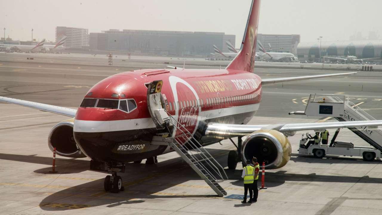 Coca Cola Dubai Plane