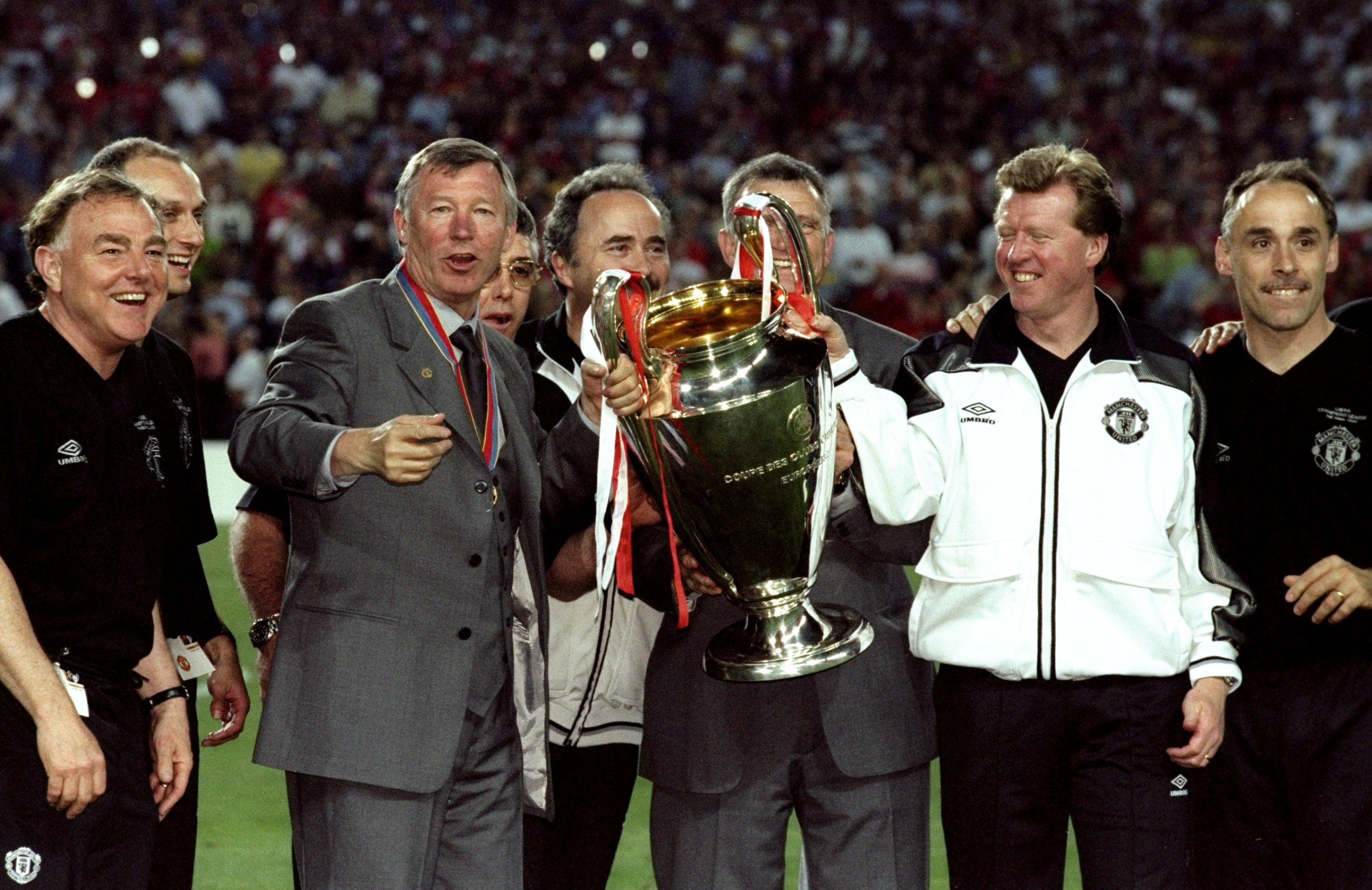 Sir Alex Ferguson Dave Fevre Manchester United