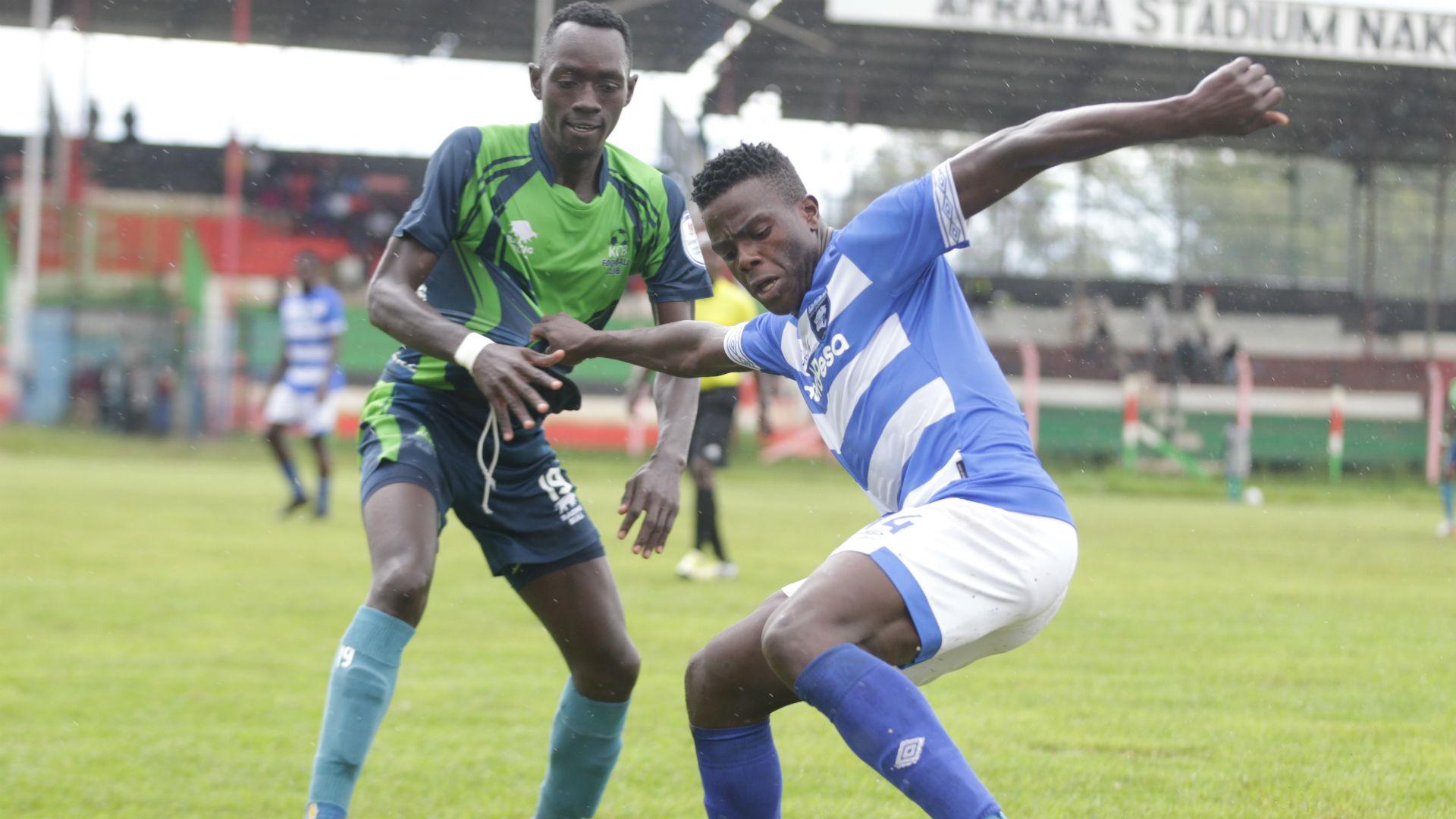 Forward Oburu and AFC Leopards part ways
