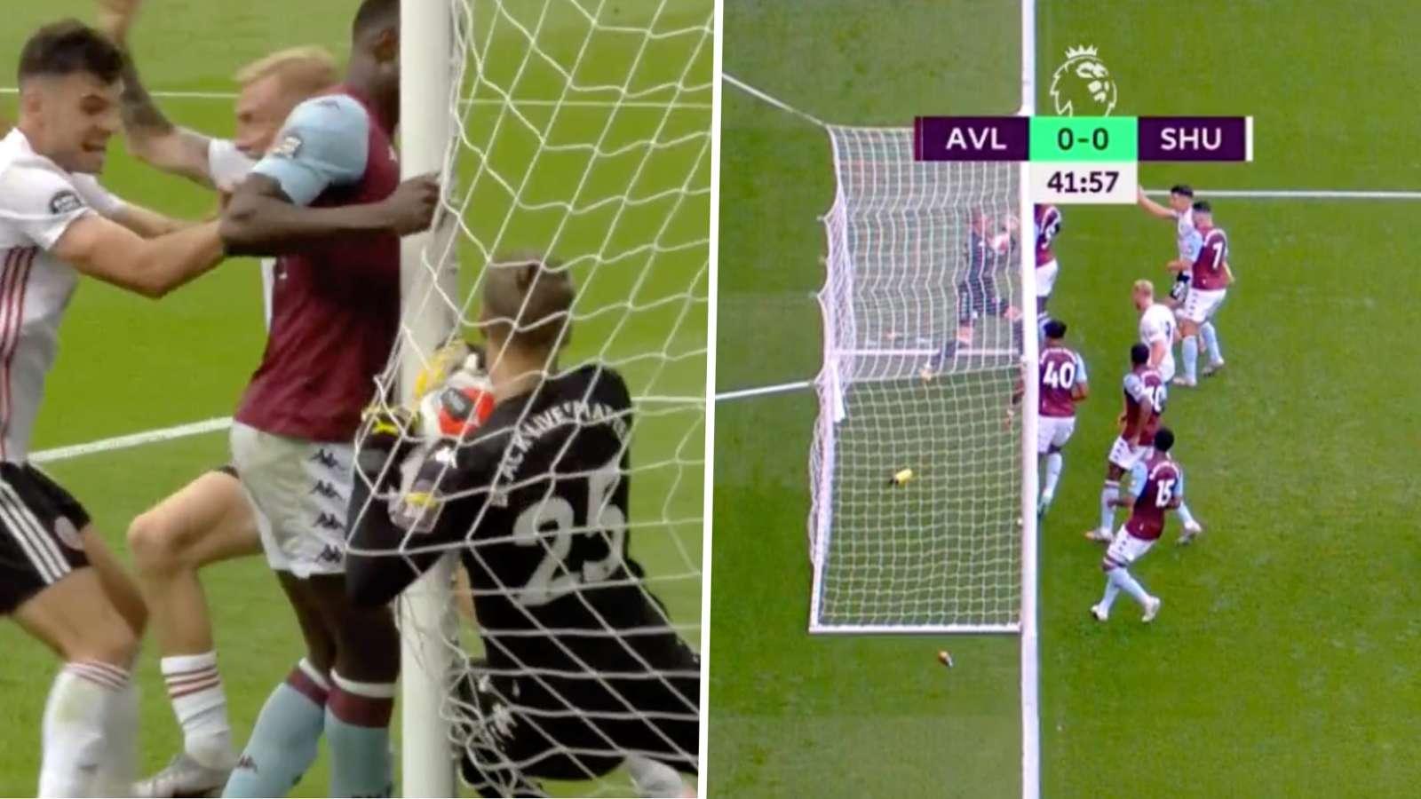 Aston Villa Sheffield United no goal