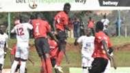 Express FC vs Kyetume FC in Uganda league.