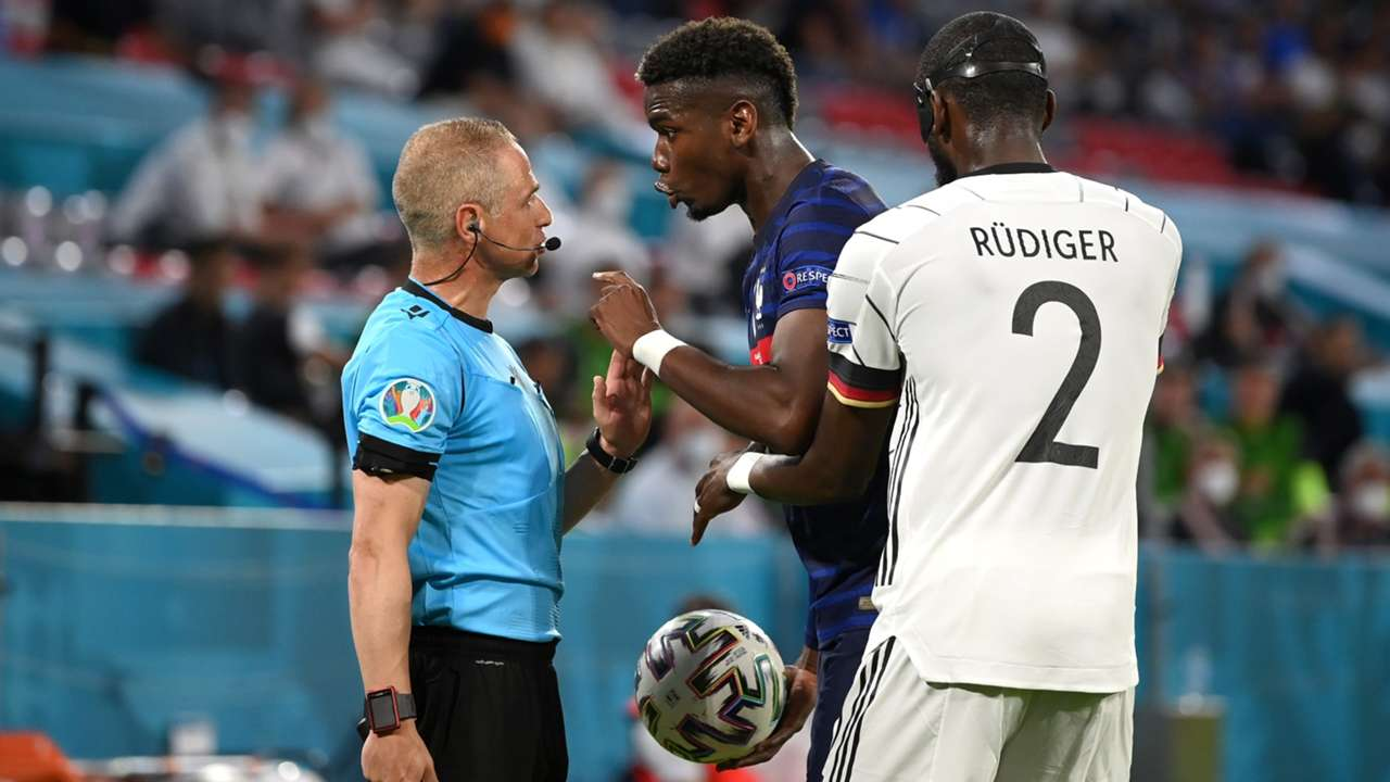 Pogba Rudiger France Germany Euro 2020