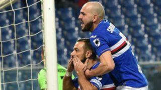 Quagliarella celeb Sampdoria Udinese