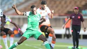Philemon Otieno of Gor Mahia v RS Berkane of Morocco.