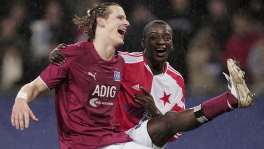 """HSV: Daniel van Buyten erinnert sich: """"Atouba hat mir immer Angst gemacht"""""""