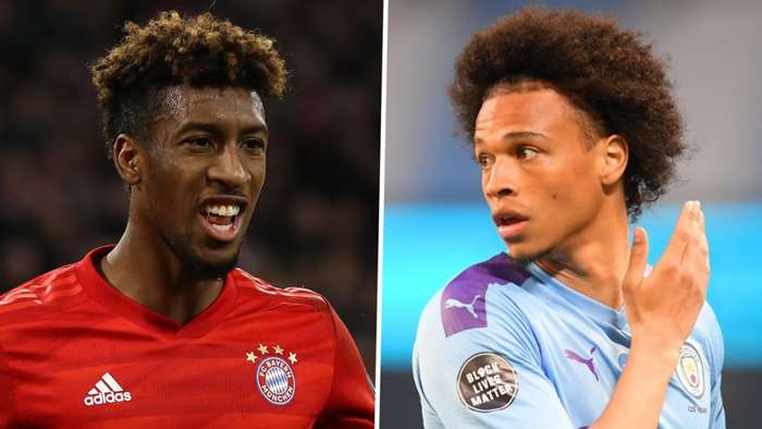 Kingsley Coman Leroy Sane Bayern Munich