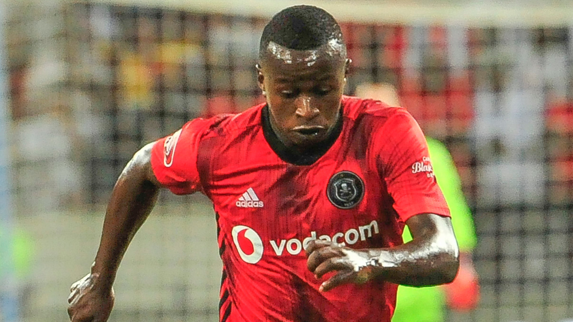 Siphesihle Ndlovu of Orlando Pirates, February 2020