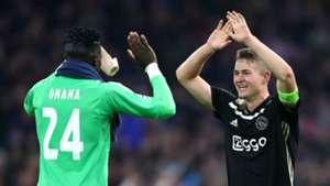 Andre Onana, De Ligt - Ajax