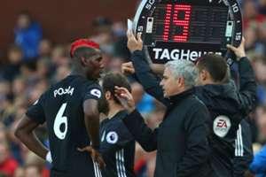 Mourinho and pogba