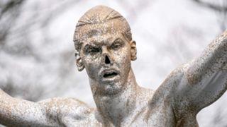 Zlatan Ibrahimovic statue 2019
