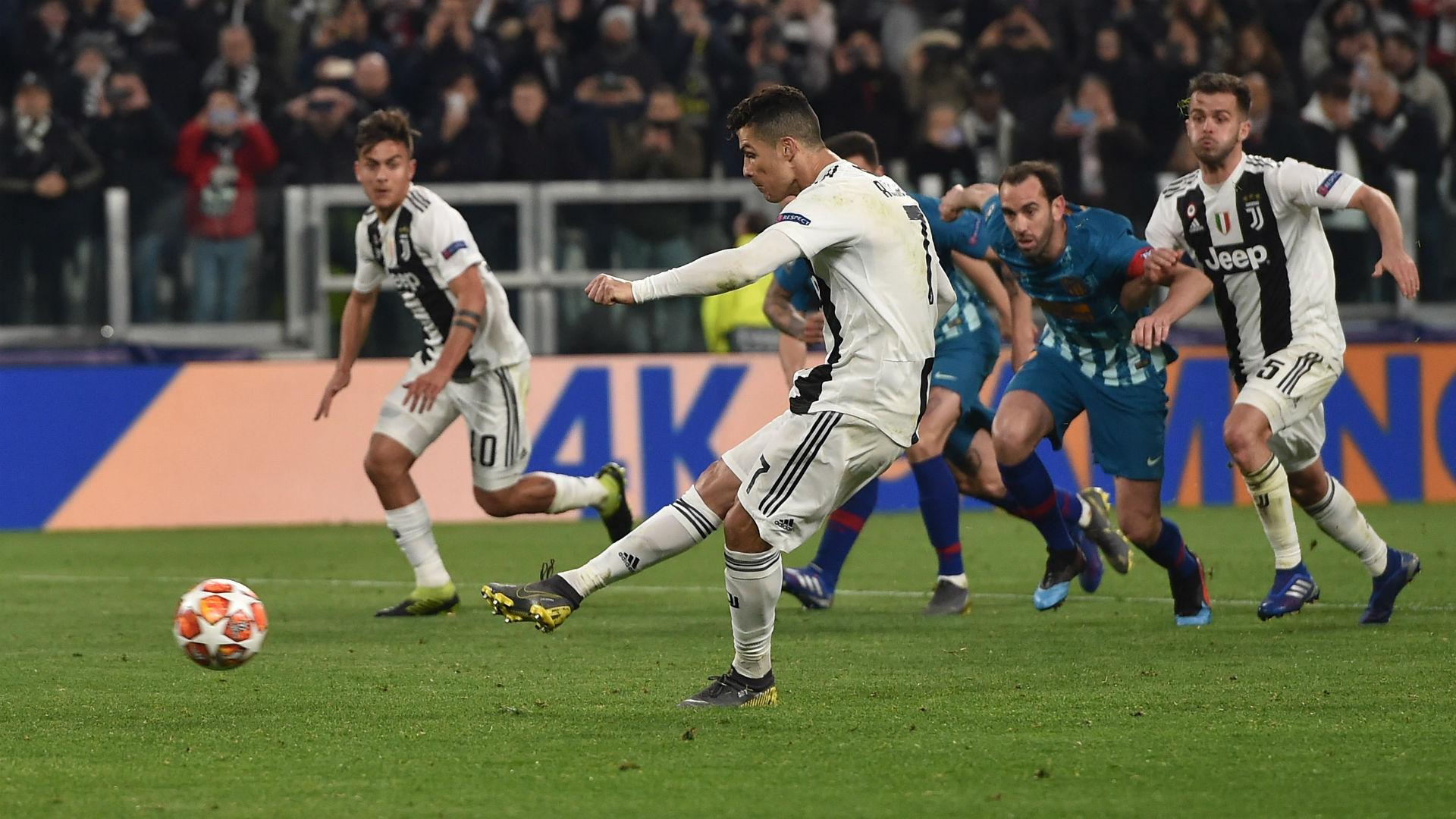 Cristiano Ronaldo penalty Juventus Atletico Madrid