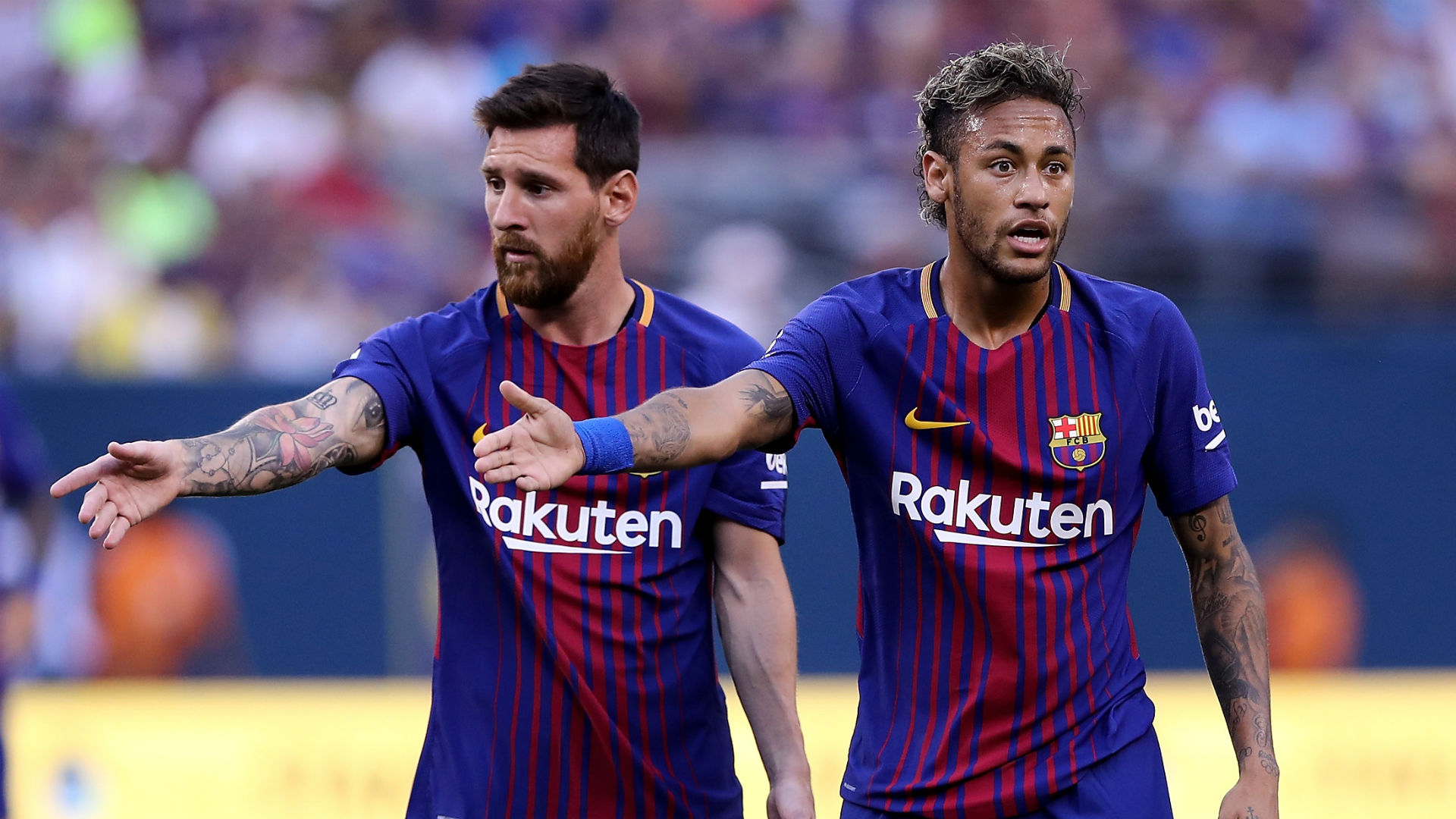Messi admits he expected Neymar to join Real Madrid