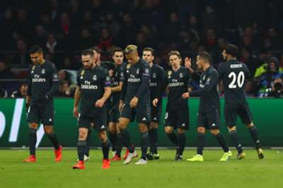 ASENSIO AJAX REAL MADRID CHAMPIONS LEAGUE