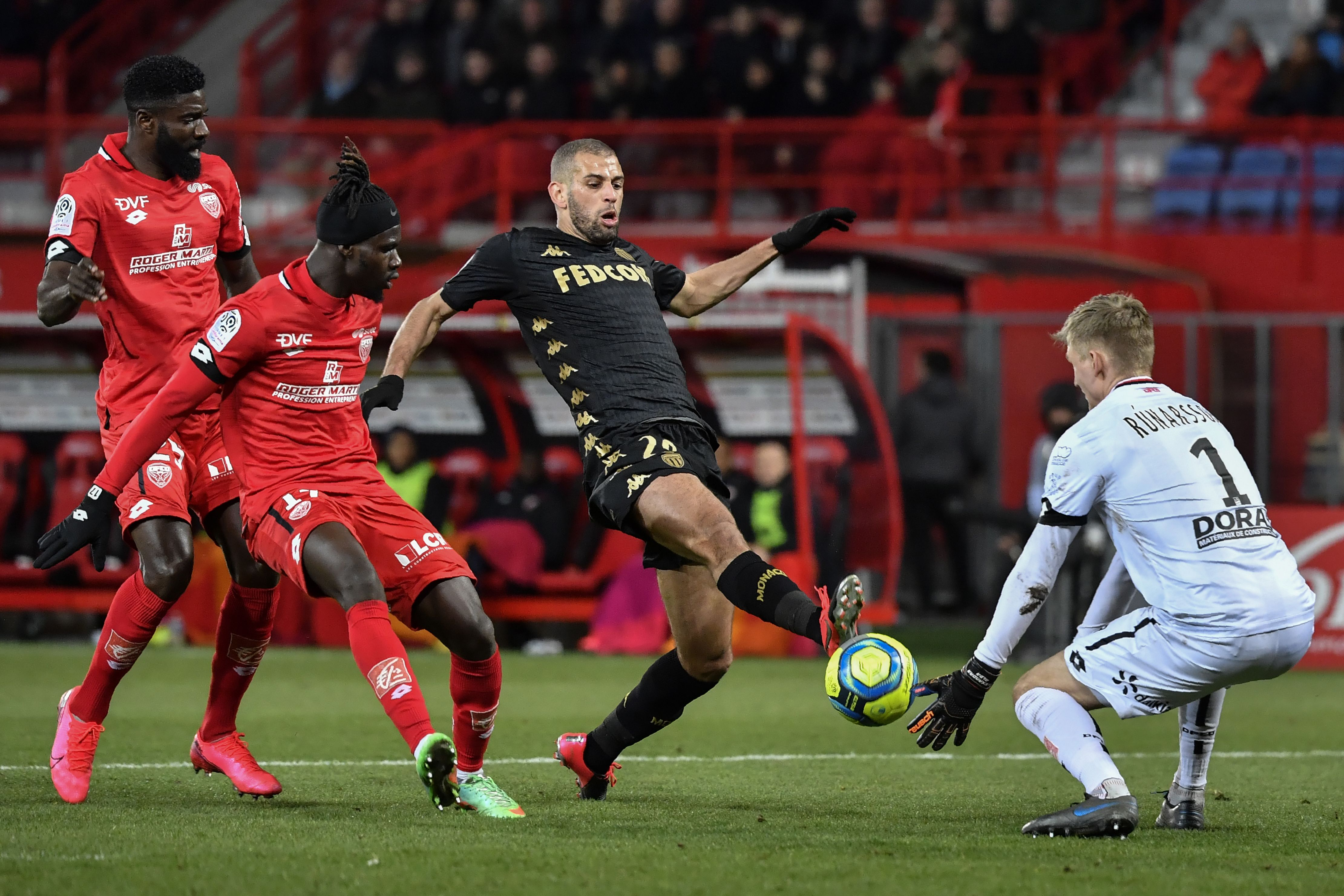 L1 - L'ASM tenue en échec, Lille et Angers à la relance