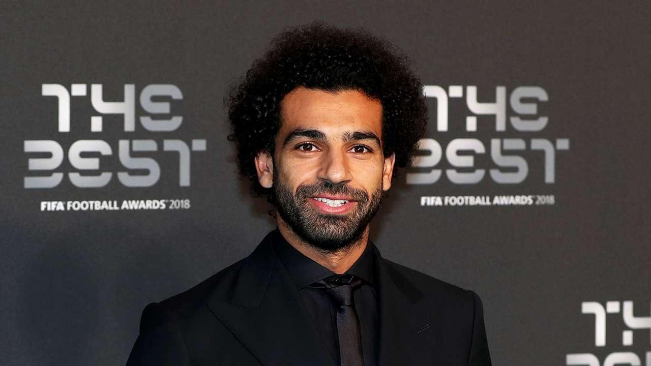 Mohamed Salah FIFA's The Best awards