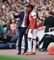 Iwobi Emery Arsenal