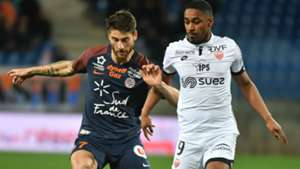 Paul Lasne Wesley Said Montpellier Dijon Ligue 1 17032018