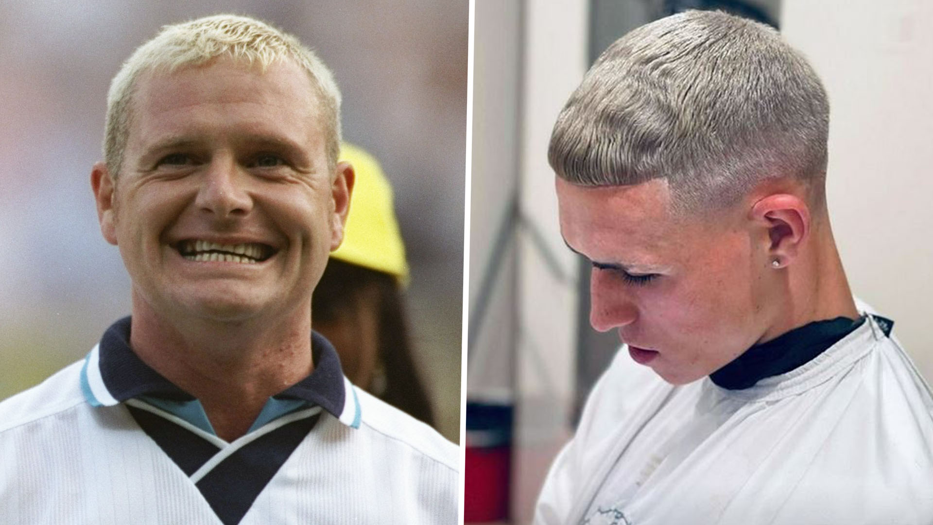 Phil Foden reveals new Gazza-style haircut and hopes to emulate England hero at Euro 2020   Goal.com
