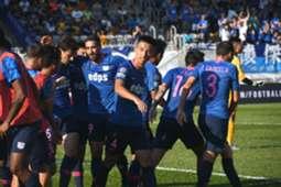 Hong Kong Premier league, Kitchee 3:1 won over Eastern.